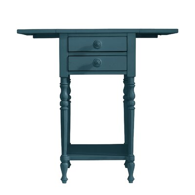Coastal Living Retreat End Table Finish: English Blue
