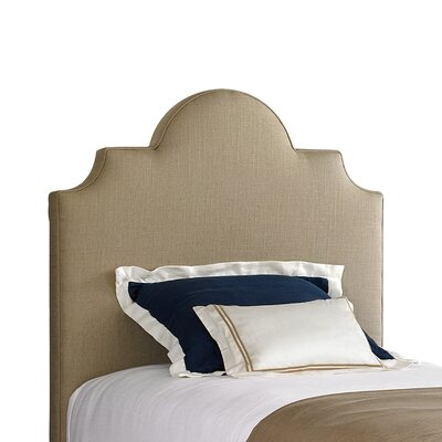 Coastal Living� Retreat Twin Upholstered Panel Headboard Finish: Block Island Sand