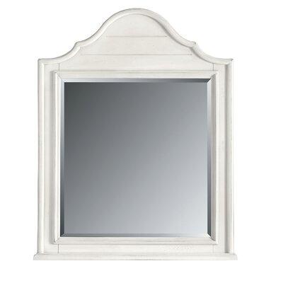 Coastal Living Retreat Arch Top Mirror Finish: Saltbox White
