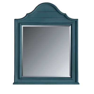 Coastal Living Retreat Arch Top Mirror Finish: English Blue