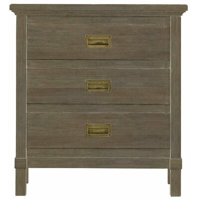 Resort 3 Drawer Nightstand Color: Deck