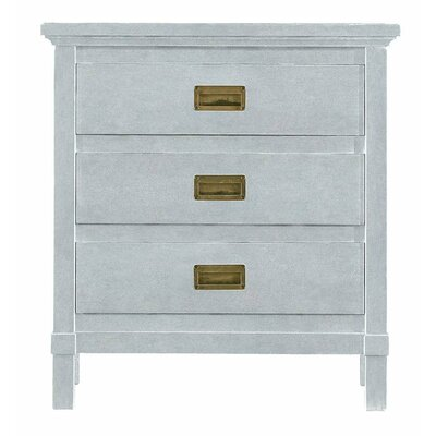 Resort 3 Drawer Nightstand Finish: Sea Salt
