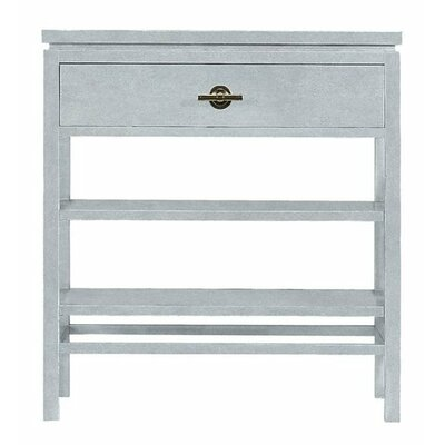 Resort 1 Drawer Night Stand Finish: Sea Salt