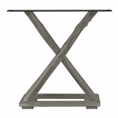 Resort Driftwood Flats End Table Finish: Morning Fog