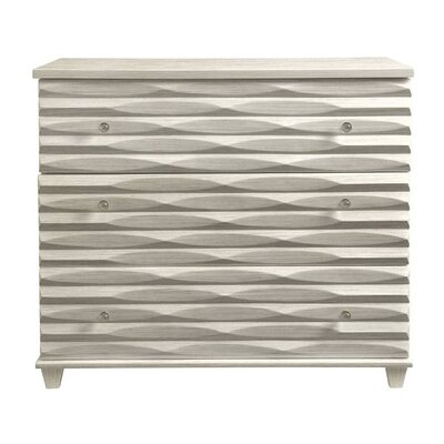 Oasis Tides 3 Drawer Dresser Color: Oyster
