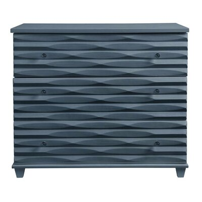 Oasis Tides 3 Drawer Dresser Finish: Cotswold Blue