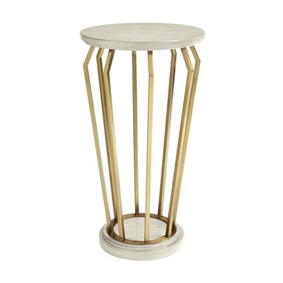 Oasis Manzanita Martini End Table Finish: Cotswold Blue