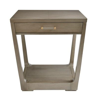 Oasis Meridian Square End Table Finish: Oyster