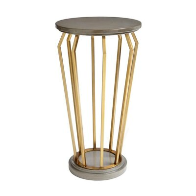 Oasis Manzanita Martini End Table Color: Oyster