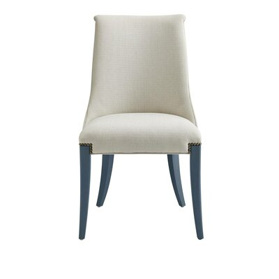Oasis Wilshire Host Side Chair Finish: Cotswold Blue