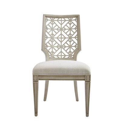 Oasis Catalina Side Chair Finish: Oyster