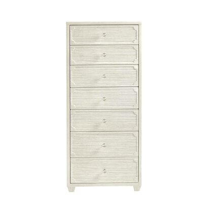 Oasis Seadrift 7 Drawer Lingerie Chest Color: Grey Birch