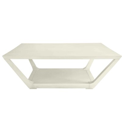 Oasis Poseidon Coffee Table Color: Saltbox White