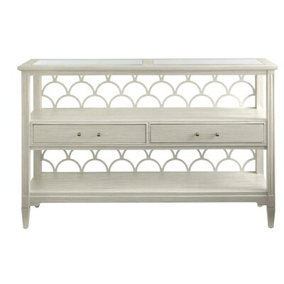 Oasis 58 TV Stand Color: Oyster