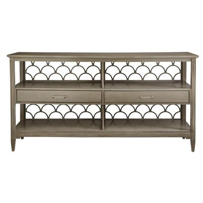 Oasis Console Table Finish: Grey Birch