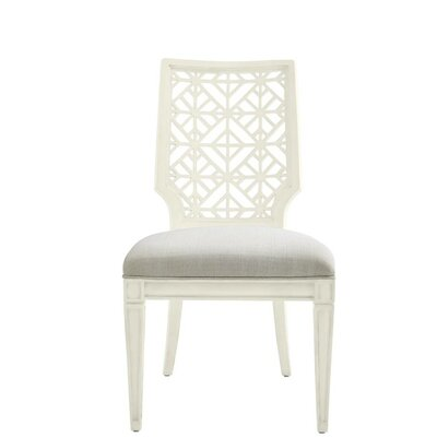 Oasis Catalina Side Chair Finish: Saltbox White
