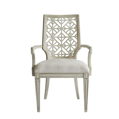 Oasis Catalina Arm Chair Finish: Oyster