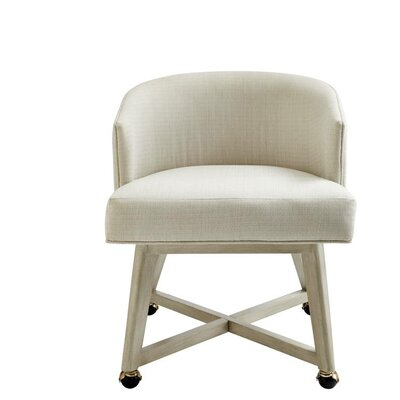 Oasis Carlyle Barrel Chair Finish: Oyster