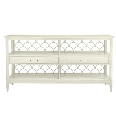 Oasis Console Table Finish: Saltbox White