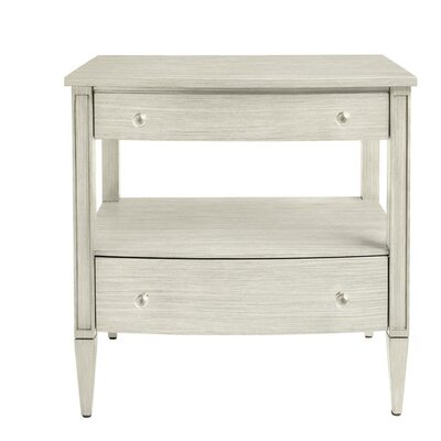 Oasis Mulholland 2 Drawer Nightstand Color: Oyster