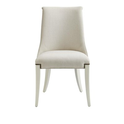 Oasis Wilshire Host Side Chair Finish: Saltbox White