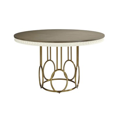 Oasis Venice Beach Round Dining Table Finish: Saltbox White