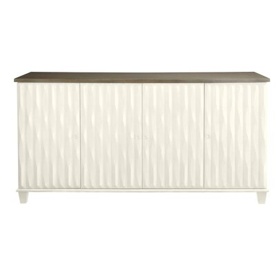 Oasis Tides Sideboard Finish: Saltbox White