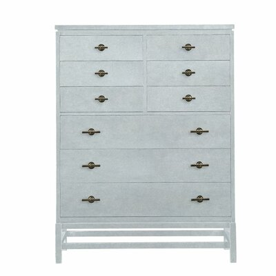 Resort 9 Drawer Tranquility Isle Chest Color: Sea Salt