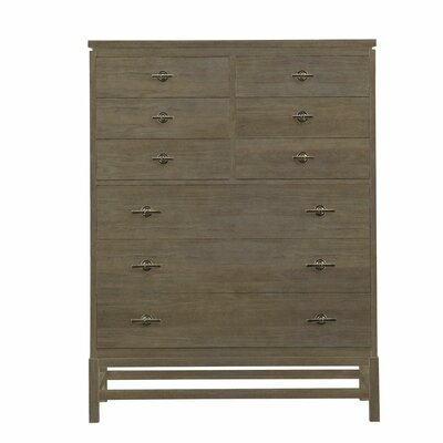 Resort 9 Drawer Tranquility Isle Chest Finish: Deck