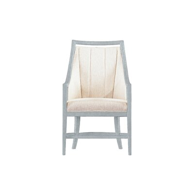 Resort Upholstered Dining Chair Finish: Sea Salt