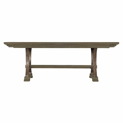 Blackburn Dining Table Finish: Distressed Black
