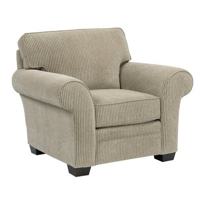 Zachary Arm Chair Color: Beige