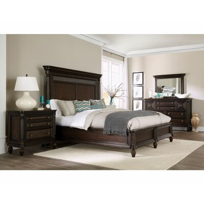 Jessa Platform Customizable Bedroom Set