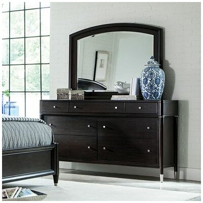 Vibe 7 Drawer Dresser with Mirror