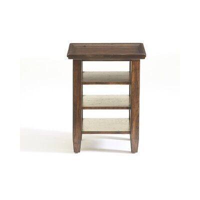 Buy Low Price Attic End Table In Rustic Oak 3399 02