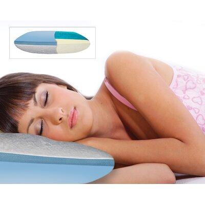 Clima Comfort Reversible Gel Memory Foam Standard Pillow