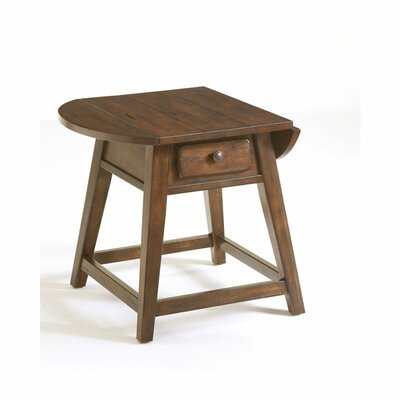 Cheap Broyhill Attic Splay Leg End Table in Rustic Oak (BRH4029)