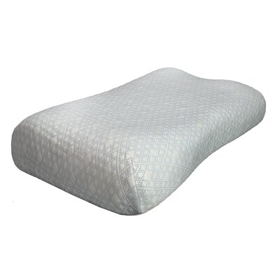 Enliven Icy-Cool Touch Gel Fiber Memory Foam Standard Pillow