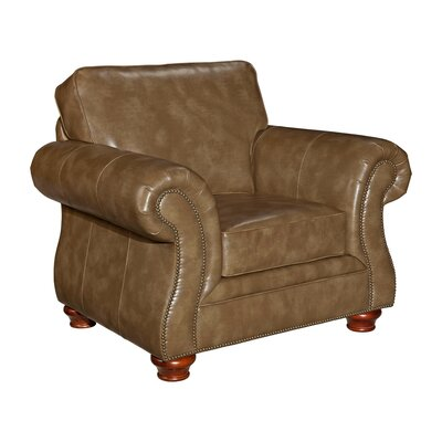 Tahoe Leather Club Chair