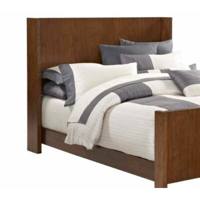 Furniture financing Suede Panel Headboard Size: Queen...