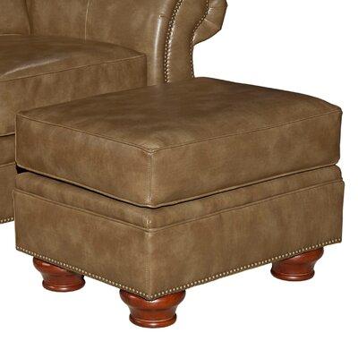 Tahoe Leather Ottoman