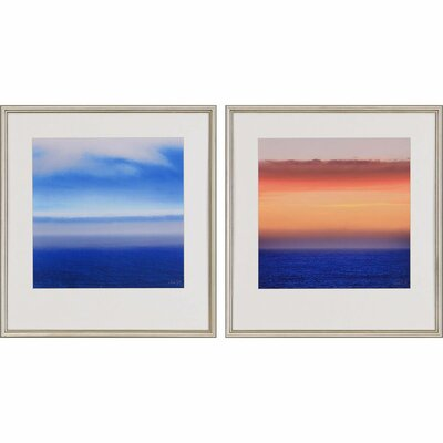 Atmosphere I by Swift 2 Piece Framed Painting Print Set 1873