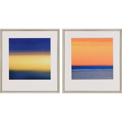 Atmosphere II by Swift 2 Piece Framed Painting Print Set 1874