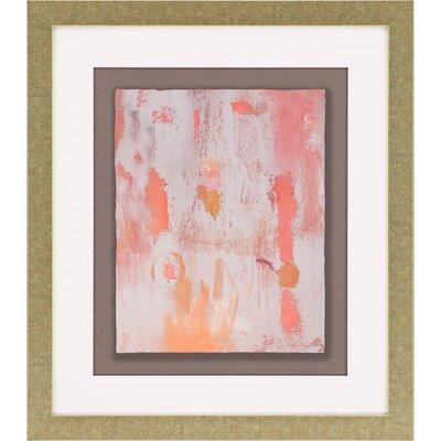 Poppy Spring II Framed Painting Print 3014