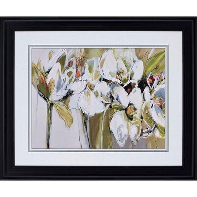 "Spring Blooms"" Framed Painting Print 3724"