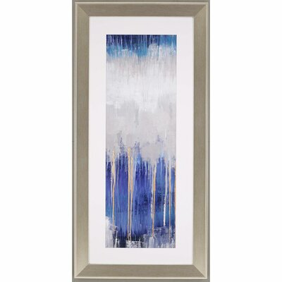 'Simple Nature I' Framed Painting Print