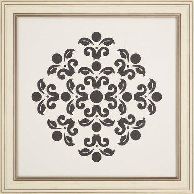 'Natural Geometric II' Framed Graphic Art Print