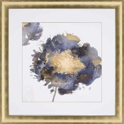 'Flower Burst II' Framed Painting Print