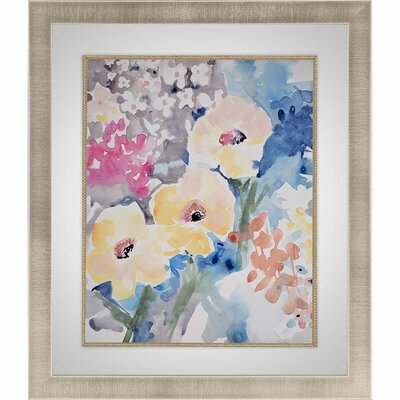 'Bright Bouquet 2' Framed Painting Print
