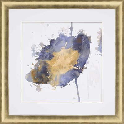 'Flower Burst III' Framed Painting Print